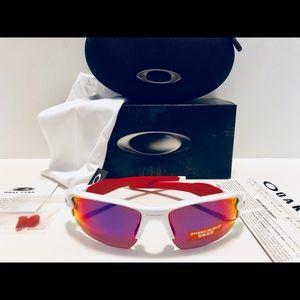 43ff3d441c Oakley Accessories - Oakley Flak 2.0 Sunglasses Shiny White Prizm Road
